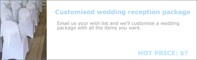 Customise your wedding ceremony and reception package deal, Auckland
